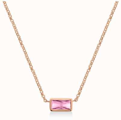 Radley Jewellery Radley Rocks | Rose Gold Plated Bracelet | Baguette Cut Crystal RYJ2160S-CARD