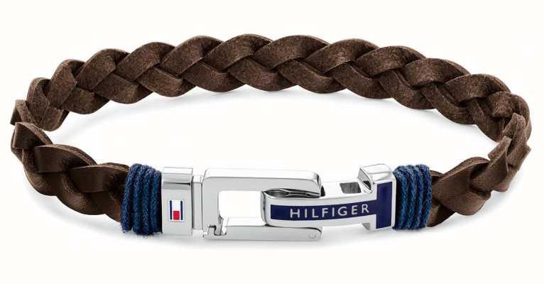 Tommy Hilfiger Casual | Brown Leather Bracelet 2790309
