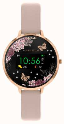 Reflex Active Series 3 Smart Watch | Nude Pink Strap RA03-2014