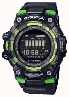 Casio G-Shock | Sports Vital Series | Black Silicone Strap | Black Dial GBD-100SM-1ER