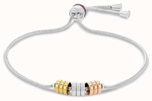 Tommy Hilfiger Women's Tri-Colour Adjustable Bracelet 2780503