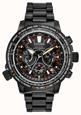 Citizen Men's Eco- Drive Satellite Wave GPS Limited Edition CC7015-55E