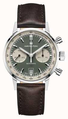 Hamilton IntraMatic   Automatic   Chronograph   Green Dial H38416560