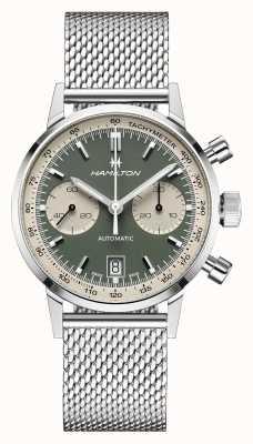 Hamilton IntraMatic   Automatic   Chronograph   Green Dial H38416160