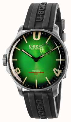 U-Boat Darkmoon 44mm Noble Green SS / Rubber Strap 8702