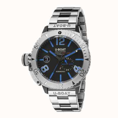 U-Boat SOMMERSO BLUE ON STEEL BRACELET 9014/MT