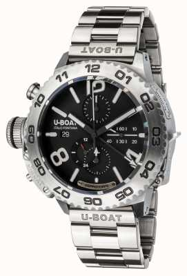 U-Boat DOPPIOTEMPO CHRONO SS ON STEEL BRACELET 9016/MT