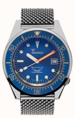 Squale OCEAN | Automatic | Blue Dial | Stainless Steel Blue Dial 1521OCN.ME-CINSS20