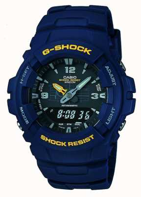 Casio G-Shock Chronograph G-100-2BVMUR