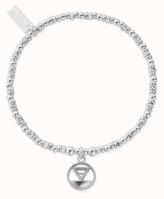 ChloBo Sparkle Disc Earth Bracelet | Sterling Silver SBSD3112