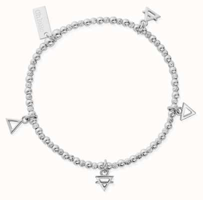 ChloBo Multi Charm Elements Bracelet | Sterling Silver SBMULC4