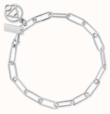 ChloBo Link Chain Air Bracelet | Sterling Silver SBLC3108