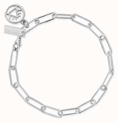 ChloBo Link Chain Fire Bracelet | Sterling Silver SBLC3110