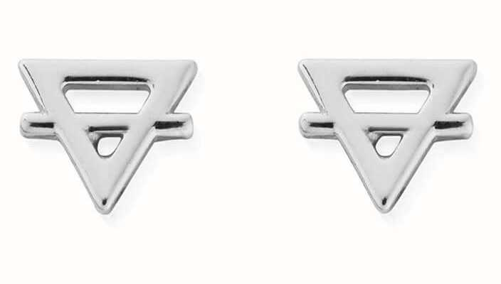 ChloBo Earth Stud Earrings | Sterling Silver SEST3134