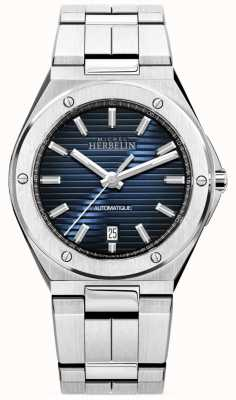 Michel Herbelin Cap Camarat | Automatic | Blue Dial | Stainless Steel 1645/B15