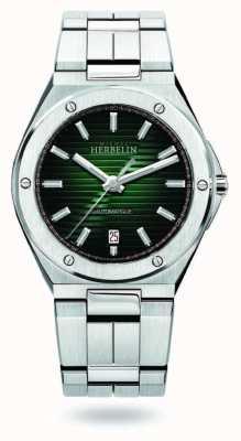 Michel Herbelin Cap Camarat | Automatic | Green Dial | Stainless Steel 1645/B16