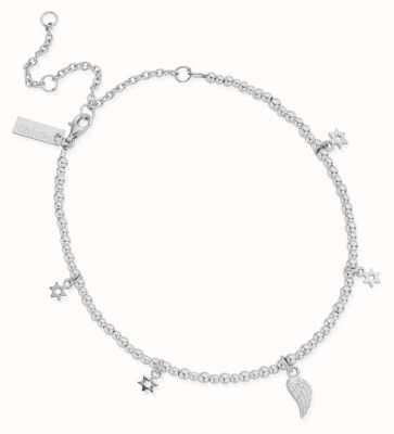 ChloBo Mini Cute Divinity Within Anklet | Sterling Silver SANMC23503058