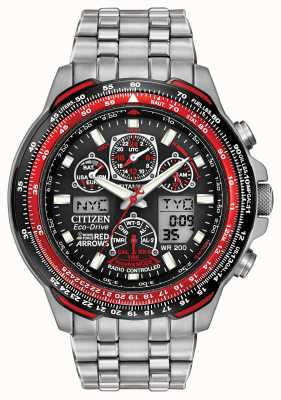 Citizen Radio Controlled Red Arrows Titanium Skyhawk A-T JY0110-55E