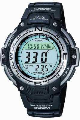 Casio Mens Alarm Chronograph SGW-100-1VEF