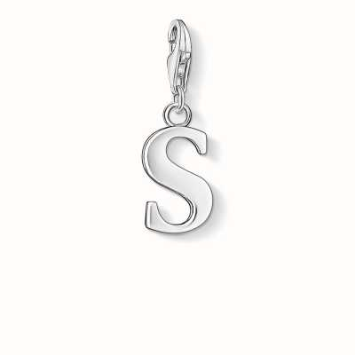 Thomas Sabo S Charm 925 Sterling Silver 0193-001-12