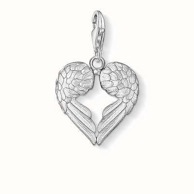 Thomas Sabo Wings Charm 925 Sterling Silver 0613-001-12