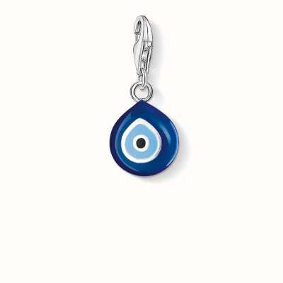 Thomas Sabo Turkish Eye Charm Blue 925 Sterling Silver Cold Enamel 0829-007-1