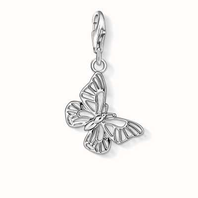 Thomas Sabo Butterfly Charm 925 Sterling Silver 1038-001-12