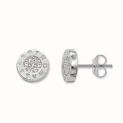 Thomas Sabo Earstuds White 925 Sterling Silver/ Zirconia H1547-051-14