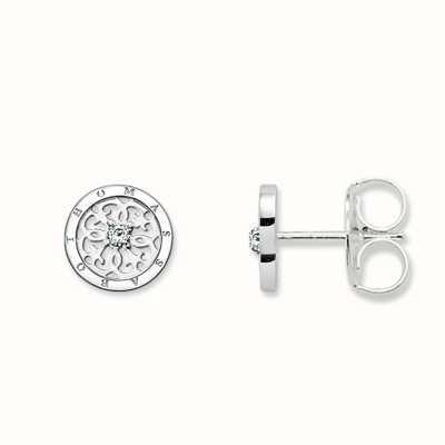 Thomas Sabo Earstuds White 925 Sterling Silver/ Zirconia H1760-051-14