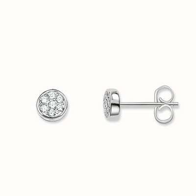 Thomas Sabo Earstuds White 925 Sterling Silver/ Zirconia H1848-051-14