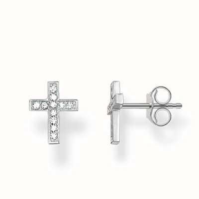 Thomas Sabo Earstuds White 925 Sterling Silver/ Zirconia H1880-051-14