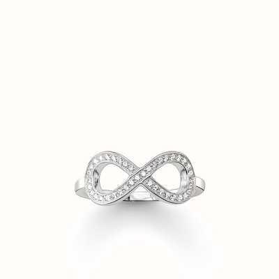 Thomas Sabo Ring White 925 Sterling Silver/ Zirconia TR2014-051-14-56