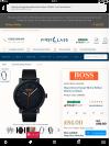 Customer picture of Hugo Boss Orange Mens Bilbao Watch In Black 1550038