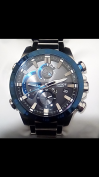 Customer picture of Casio Edifice Bluetooth Solar Powered Racing Chronograph EQB-800DB-1AER
